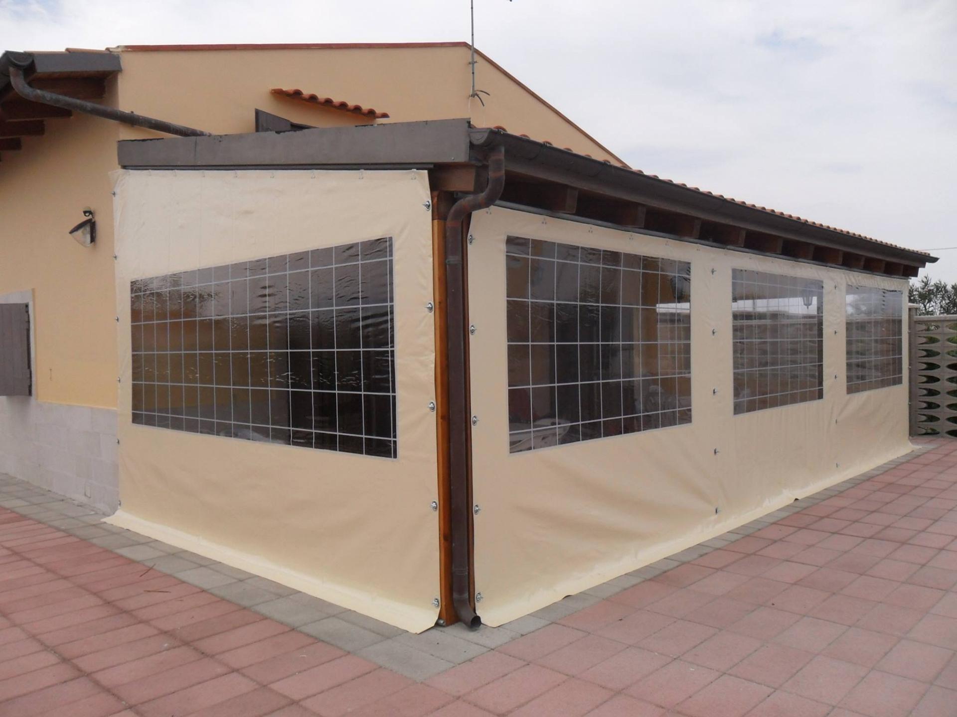 Chiusura per gazebo in legno - Chiusure per finestre in legno ...